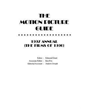 The Motion Picture Guide