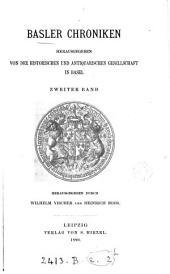 Basler Chroniken, herausg. durch W. Vischer [and others].: Volume 2
