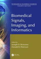 Biomedical Signals  Imaging  and Informatics PDF