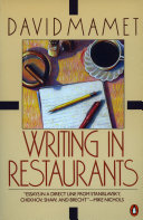 Writing in Restaurants Book