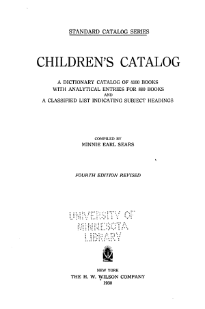 Children s Catalog PDF