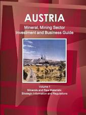Austria Mineral & Mining Sector Investment and Business Guide