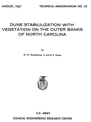Dune Stabilization with Vegetation on the Outer Banks of North Carolina