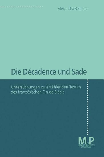 Die D  cadence und Sade PDF