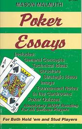 Poker Essays: Volume 1