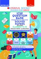 Oswaal ICSE Question Bank Class 10 English Paper 1 Language Book Chapterwise   Topicwise  Reduced Syllabus   For 2022 Exam  PDF