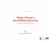 Baby Honu s Incredible Journey