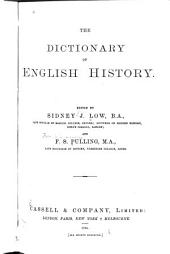 The Dictionary of English History