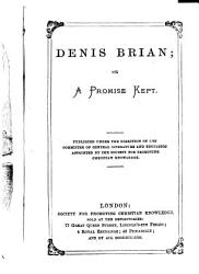 Denis Brian Or A Promise Kept Book PDF