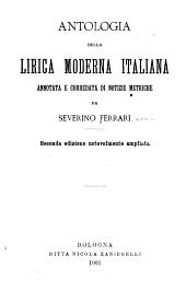 Antologia della lirica moderna italiana