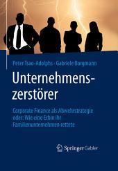 Unternehmenszerstörer: Corporate Finance als Abwehrstrategie oder: Wie eine Erbin ihr Familienunternehmen rettete