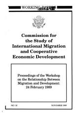 Proceedings of the Workshop on the Relationship Between Migration and Development PDF