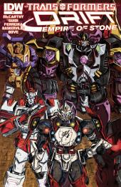 Transformers: Drift: Empire of Stone #4