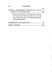 How to Teach: A Graded Course of Instruction and Manual of Methods for the Use of Teachers