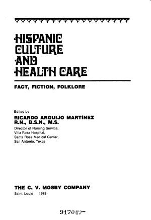 Hispanic Culture and Health Care