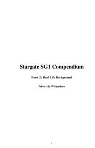 Stargate SG1 Compendium PDF