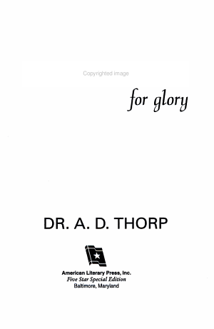 Volunteers for Glory