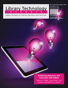 Rethinking Reference and Instruction with Tablets PDF