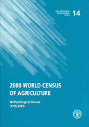 2000 World Census of Agriculture
