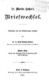Dr. Martin Luther's sämmtliche werke in beiden originalsprachen nach den ältesten ausgaben kritisch und historische bearbeitet: Band 5