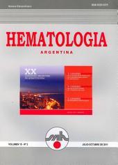 Hematologia Argentina: Volumen 15 - Nº2