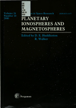 Planetary Ionospheres and Magnetospheres