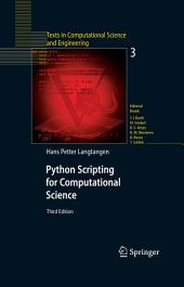 Python Scripting for Computational Science: Edition 3