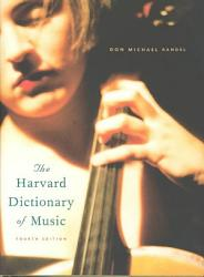 The Harvard Dictionary Of Music Book PDF
