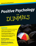 Positive Psychology For Dummies