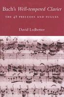 Bach s Well tempered Clavier PDF