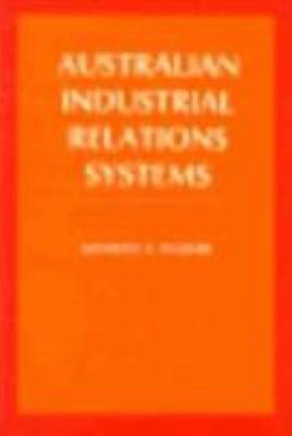 Australian Industrial Relations Systems PDF