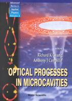 Optical Processes in Microcavities PDF