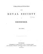 Transactions of the Royal Society of Edinburgh