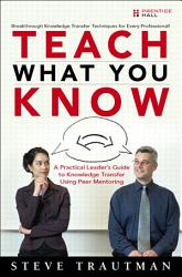 Teach What You Know PDF