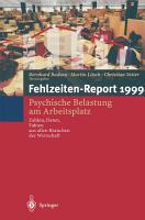 Fehlzeiten Report PDF