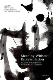Meaning Without Representation: Essays on Truth, Expression, Normativity, and Naturalism