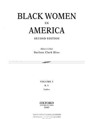 Black Women in America  R Z PDF