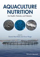 Aquaculture Nutrition PDF