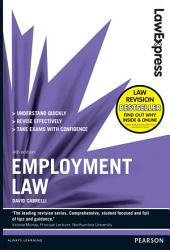 Law Express: Employment Law (Revision Guide): Edition 4