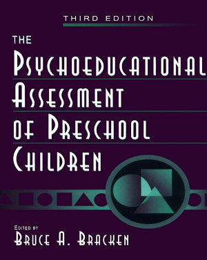 The Psychoeducational Assessment of Preschool Children PDF