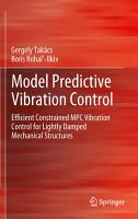 Model Predictive Vibration Control PDF