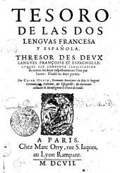 TESORO DE LAS DOS LENGVAS FRANCESCA Y ESPAÑOLA: Page1