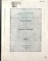 Sinopsis quiché en espanõl, francés é ingles: síntesis de un libro inédito