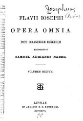 Opera omnia: Post immanuelem Bekkerum, recognivit Samuel Adrianus Naber, Τόμος 6