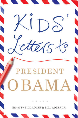 Kids  Letters to President Obama