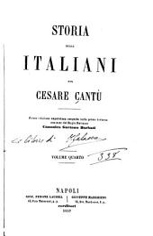 Storia degli italiani: Volume 4