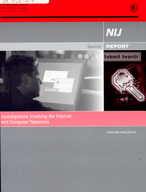 NIJ Report  Investigations Involving The Internet and Computer Networks  January 07 PDF