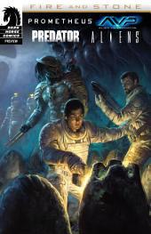 Prometheus/Aliens/AvP/Predator: Fire & Stone sampler