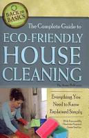 The Complete Guide to Eco Friendly House Cleaning PDF