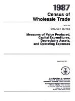 1987 Census of Wholesale Trade PDF